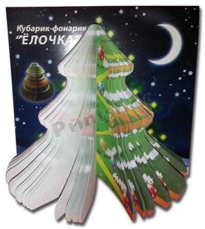 """Кубарик-фонарик """"Ёлочка"""""""